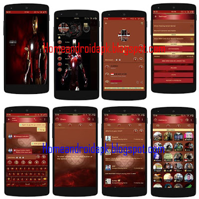 Download Mod BBM Themes Iron Man Style Special V Download Mod BBM Themes Iron Man Style Special V2.11.0.16 Newest