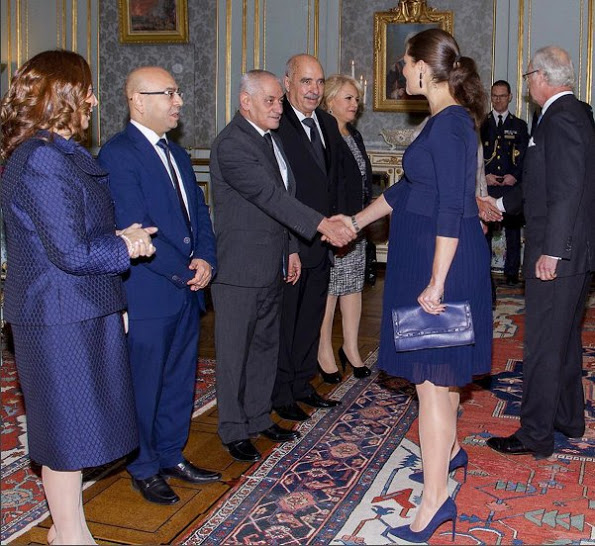 King Carl Gustaf And Princess Victoria Received The Tunisian National Dialogue Quartet