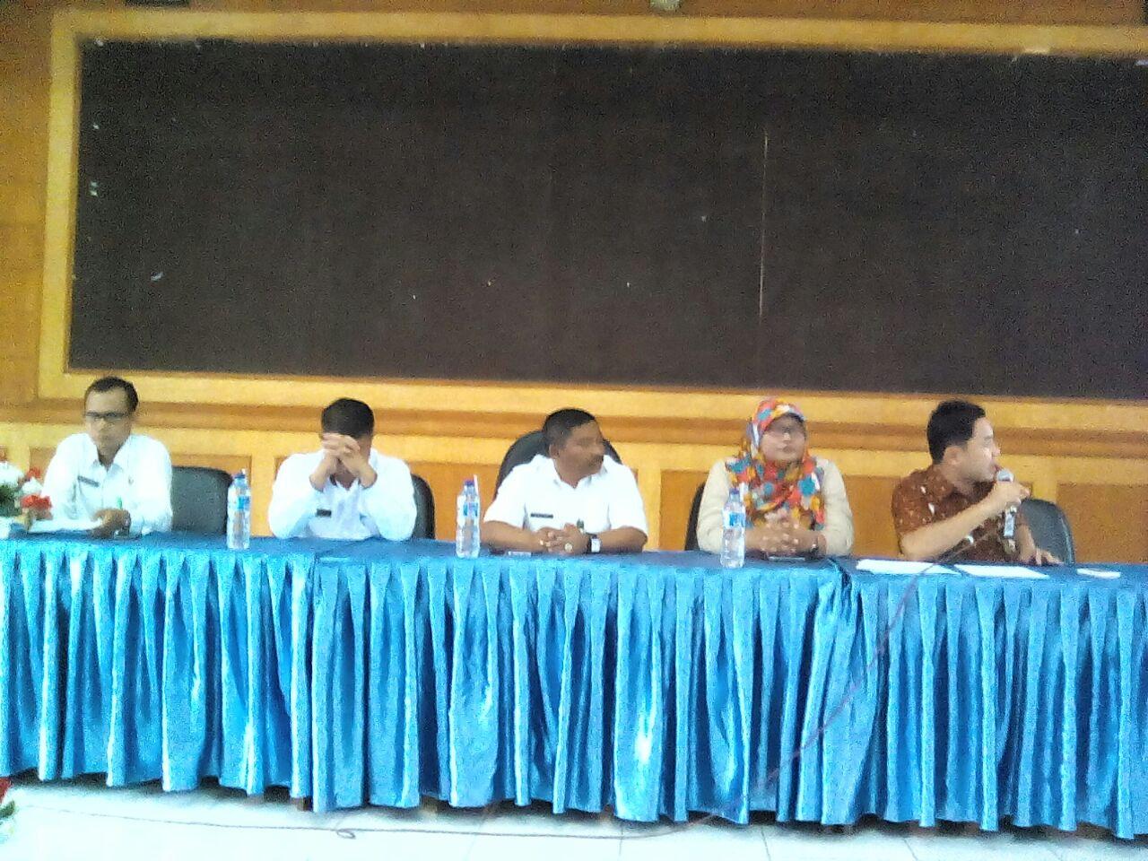Kasek se Kab.Langkat Terima Bimtek dari BPK RI Perwakilan Sumut