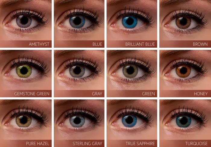 Hair Color Chart Ideas For Eye Color