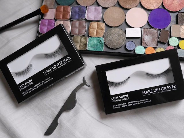 Make Up For Ever Lash Show N204 and C709