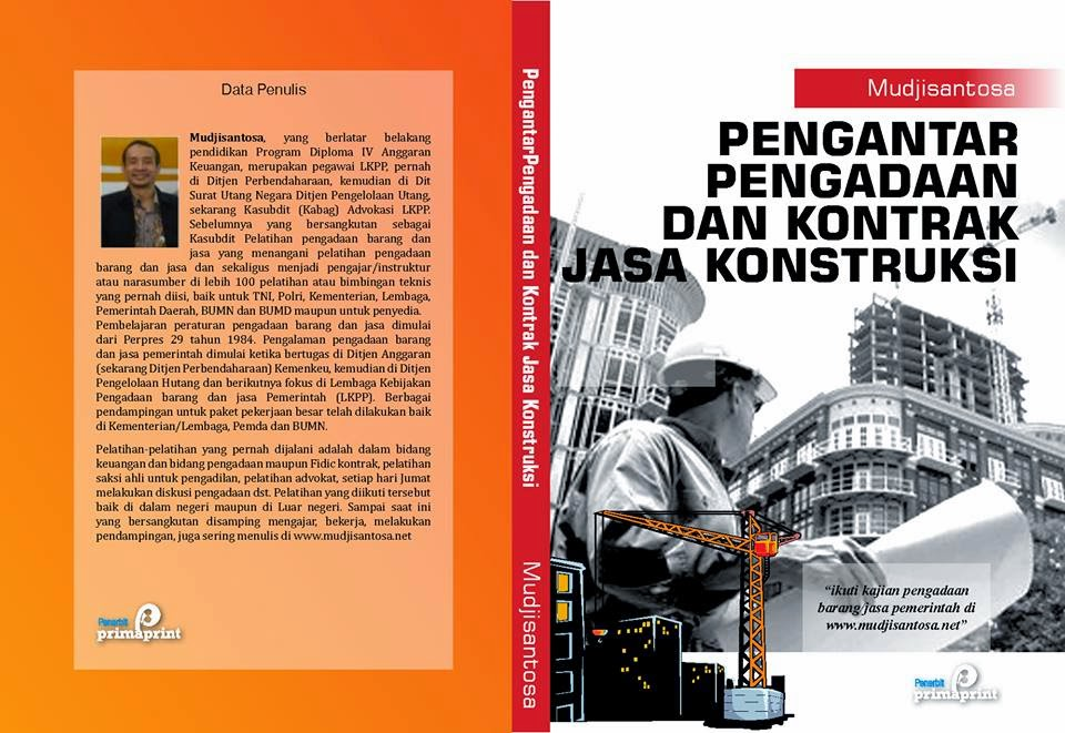 Pengadaan Barang Jasa Pemerintah Oleh Mudjisantosa Buku