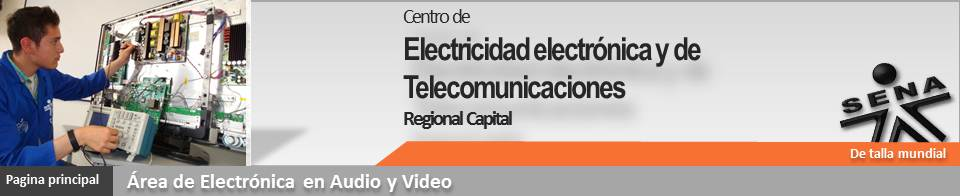 ELECTRONICA DE CONSUMO - AUDIO Y VIDEO