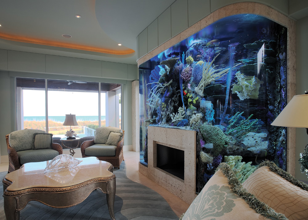 ... Aquarium? Think Again. 20 Unusual Places In Your Home For Fish Tanks