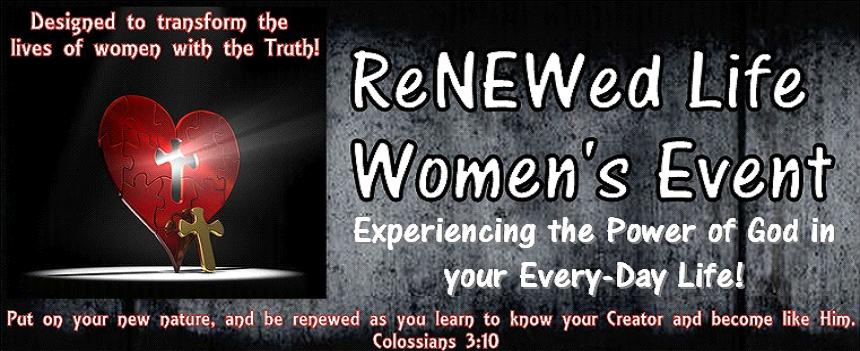 ReNEWed Life Women's Event
