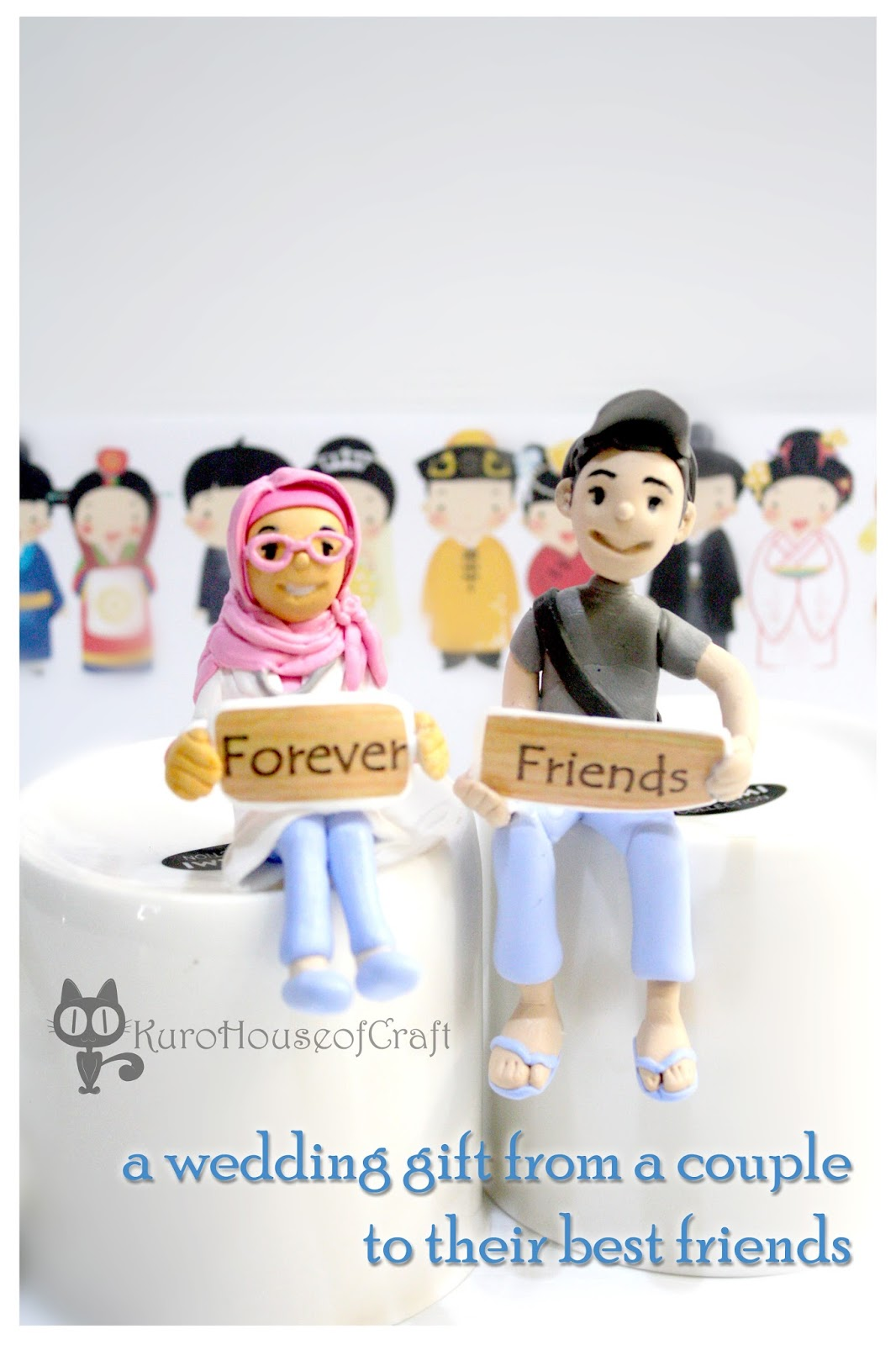 Kurohouse Of Craft Wedding Gift From Couple To Their Best Friends