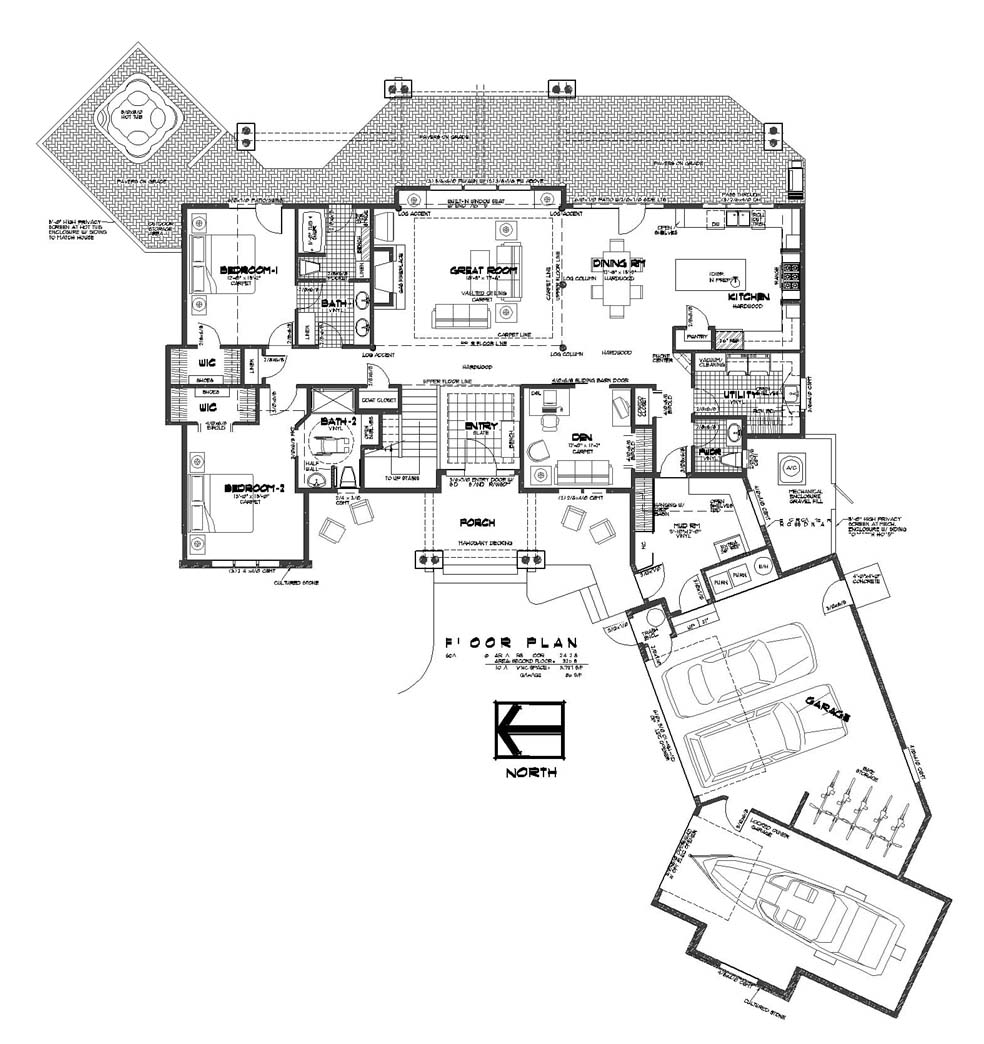 Luxury house plans House floor plan design