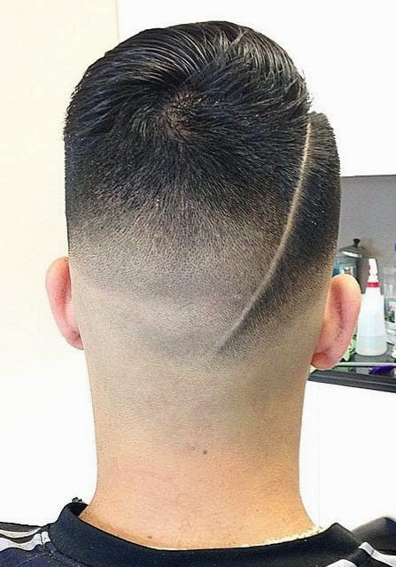 Stylish Line Up Hairstyle For Men