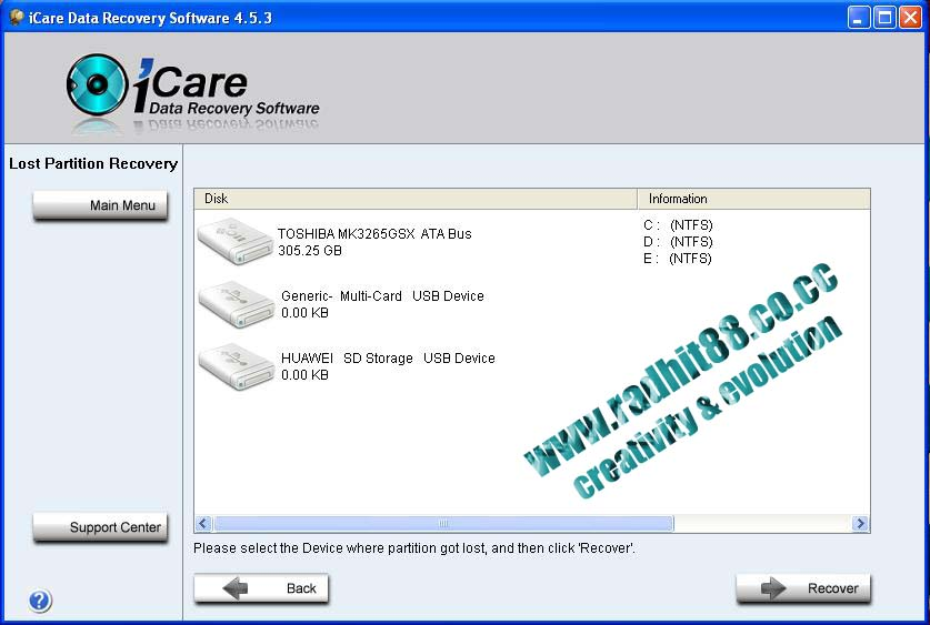 crack key for icare data recovery software