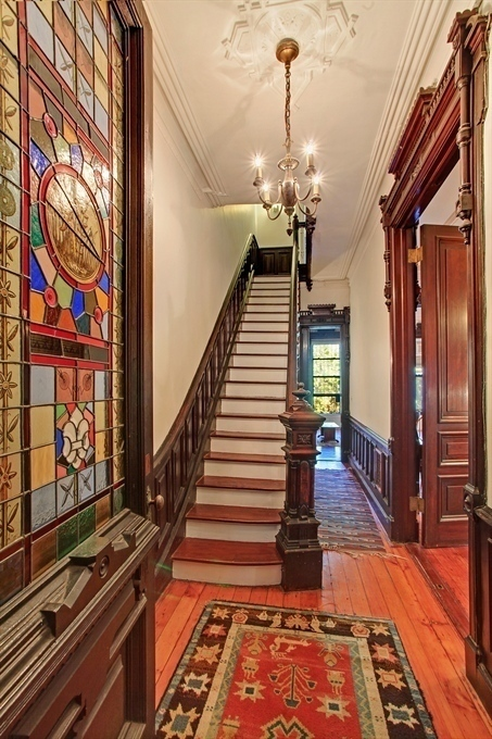 Row House Foyer : Victorian gothic interior style