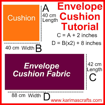 envelope cushion tutorial