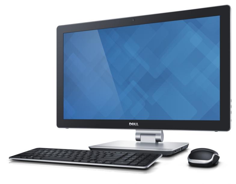 Передний дизайн моноблока Dell Inspiron 23