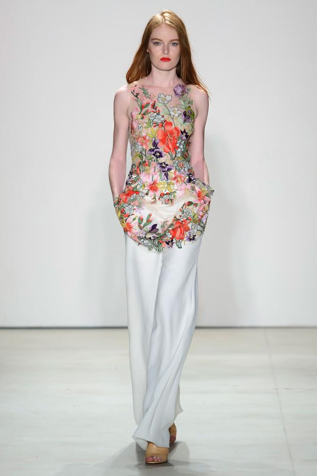 Jenny Packham Spring 2016 Ready-to-Wear NYFW by Cool Chic Style Fashion