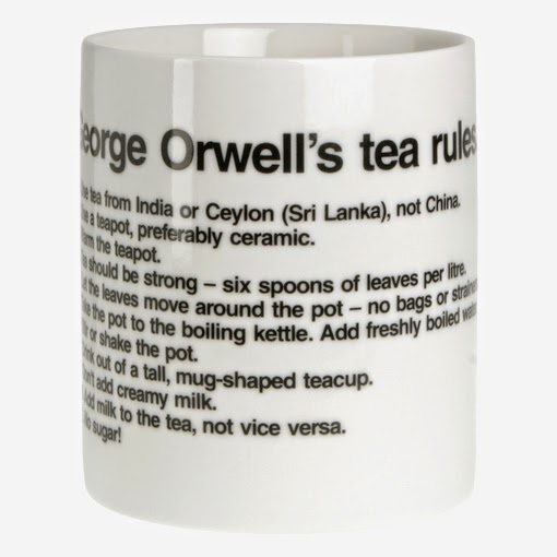 george orwell a nice cup of tea essay George orwell, london, united /124996/1984-by-george/ see more colin marshall highlighted george orwell's essay, 'a nice cup of tea,' which first ran in.