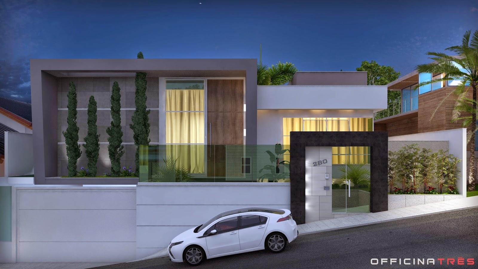 Officinatr s casa moderna loteamento alphaville manhua u mg for Casa moderna 1 8