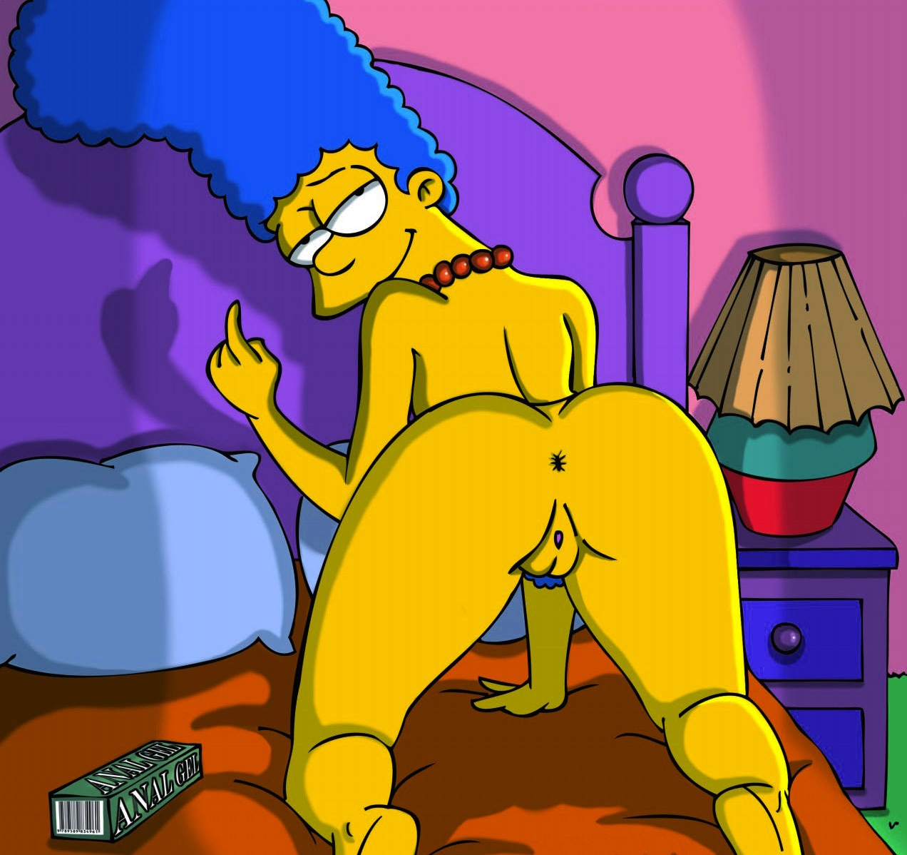 Marge simpson anal you