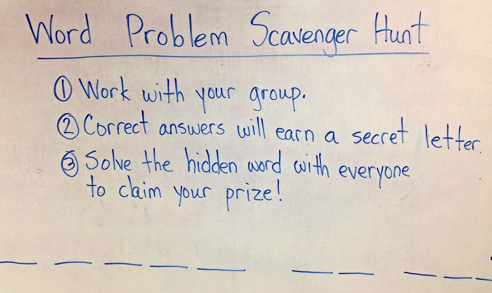 life and pancakes: Make Math Fun: Word Problem Scavenger Hunt