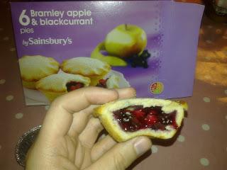 Sainsbury's Apple & Blackcurrant Pie