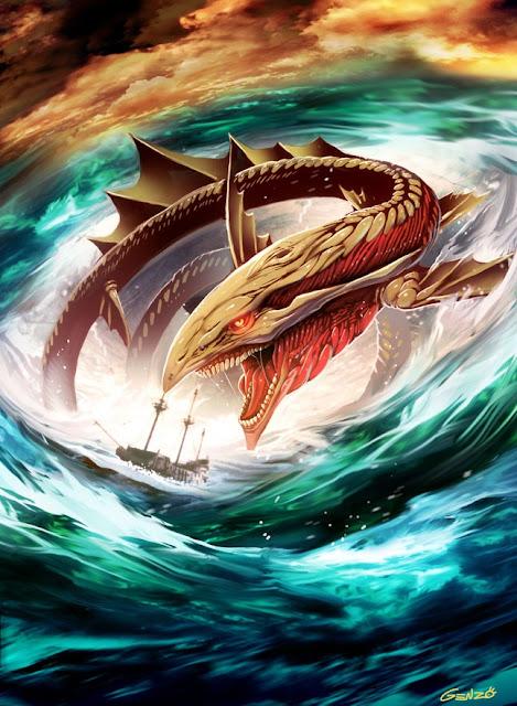 anime dragon,anime wallpaper,Genzoman