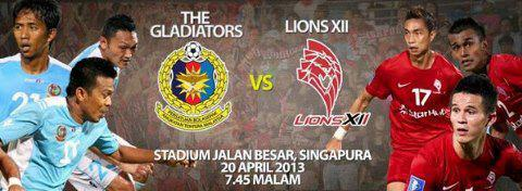 Keputusan Lions XII vs ATM 20 April 2013 - Liga Super 2013