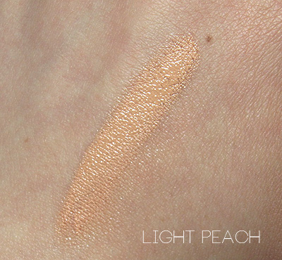 bobbi brown light peach corrector swatch
