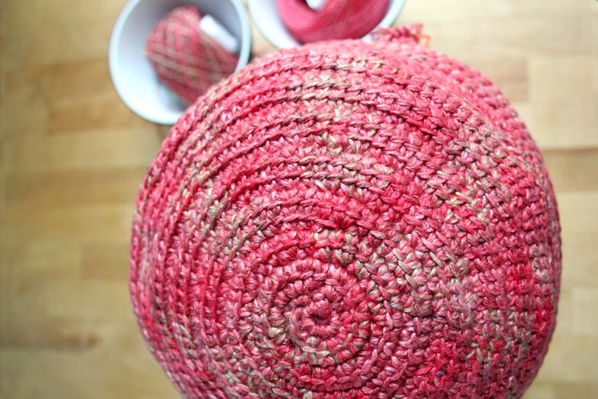 Crochet Jasmine Stitch In The Round : The Yarn Monkey Chronicles: Tunisian Crochet in the Round