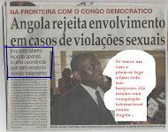 """Governo só """"licenciou"""" um violador"""