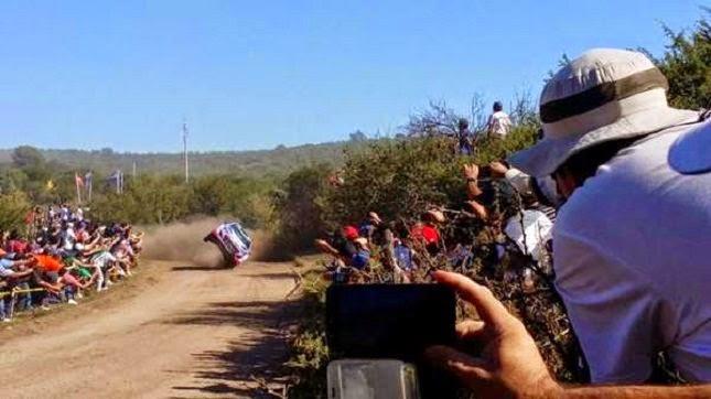 Ατύχημα με τραυματίες στο Ράλι Αργεντινής