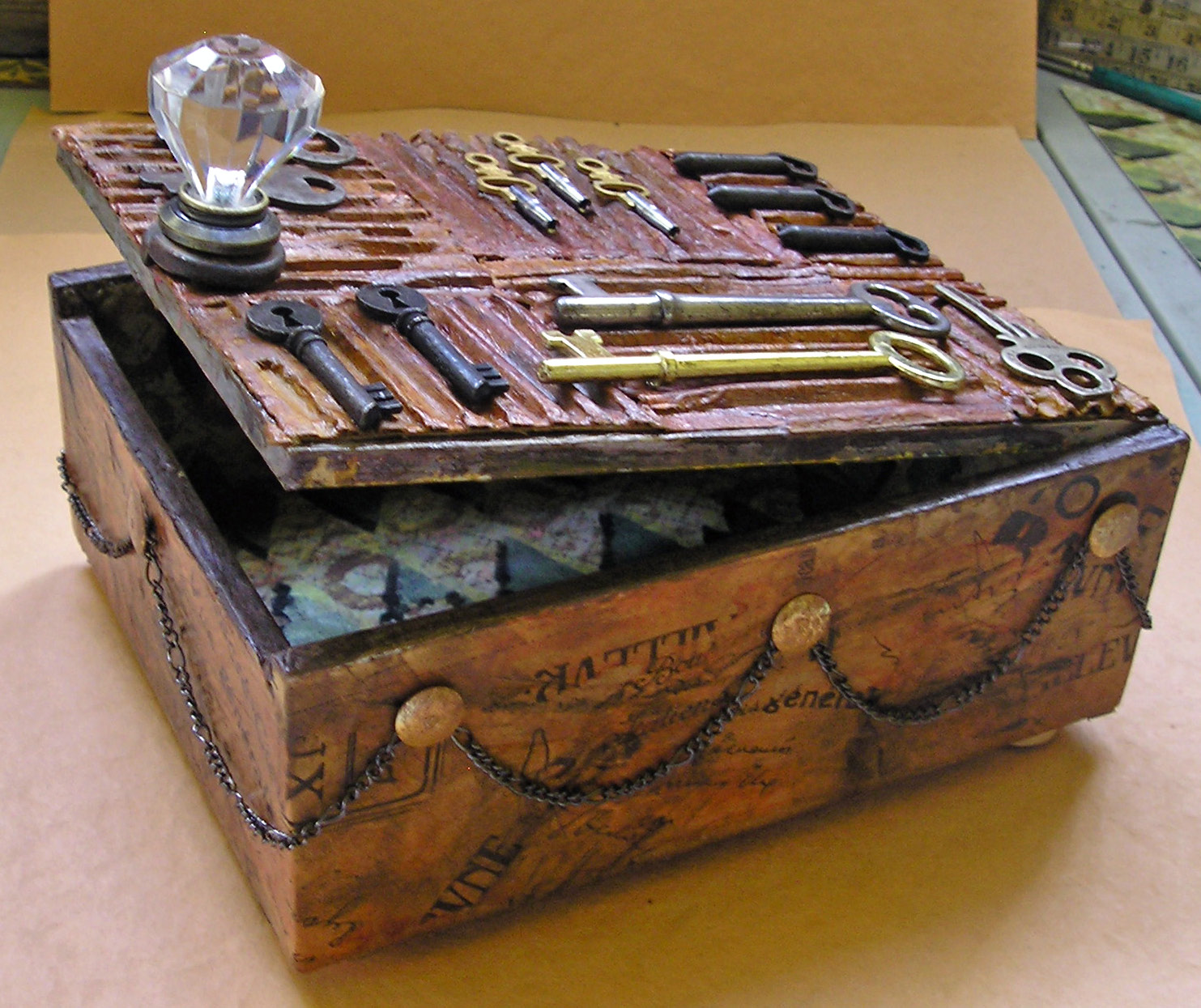 Artsaveslives toss the smokes alter the box for Cigar boxes for crafts