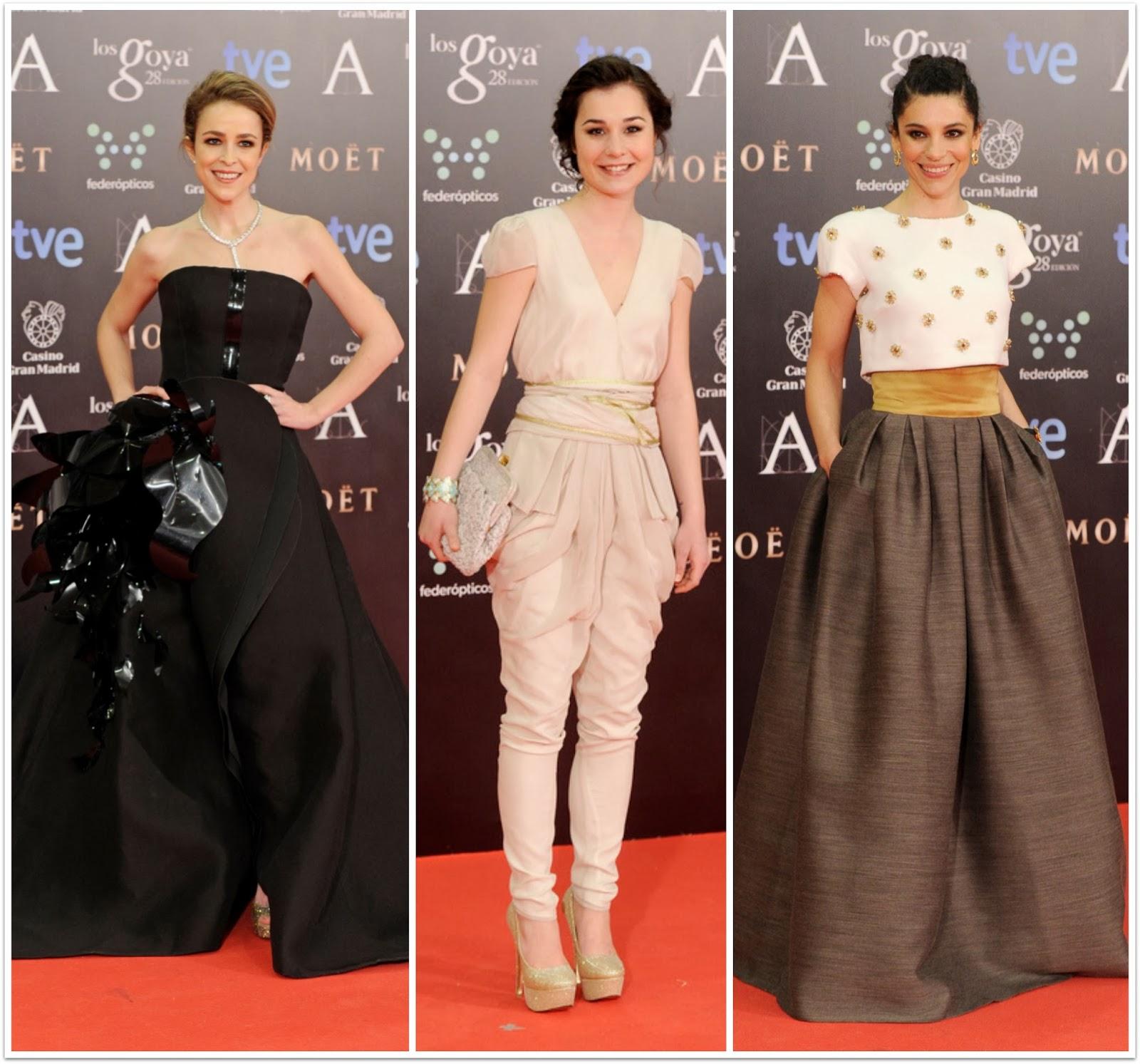 Las más arriesgadas Los Goya 2014 - 28 - Silvia Abascal, Nadia de Santiago, Irene Visedo