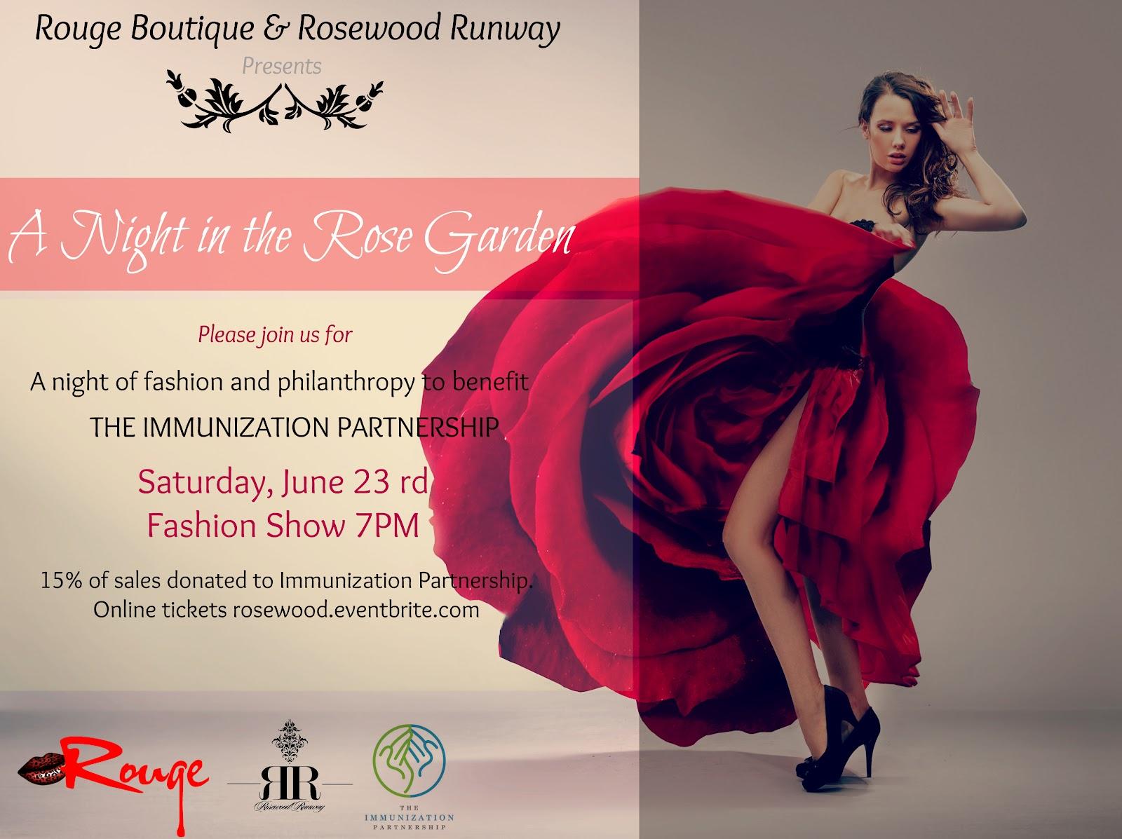 Invitations to fashion shows 39