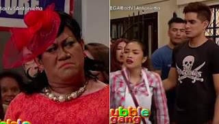 Betong Sumaya as Antonietta, Juancho Trivino as Albert and Denise Barbacena as Badel.