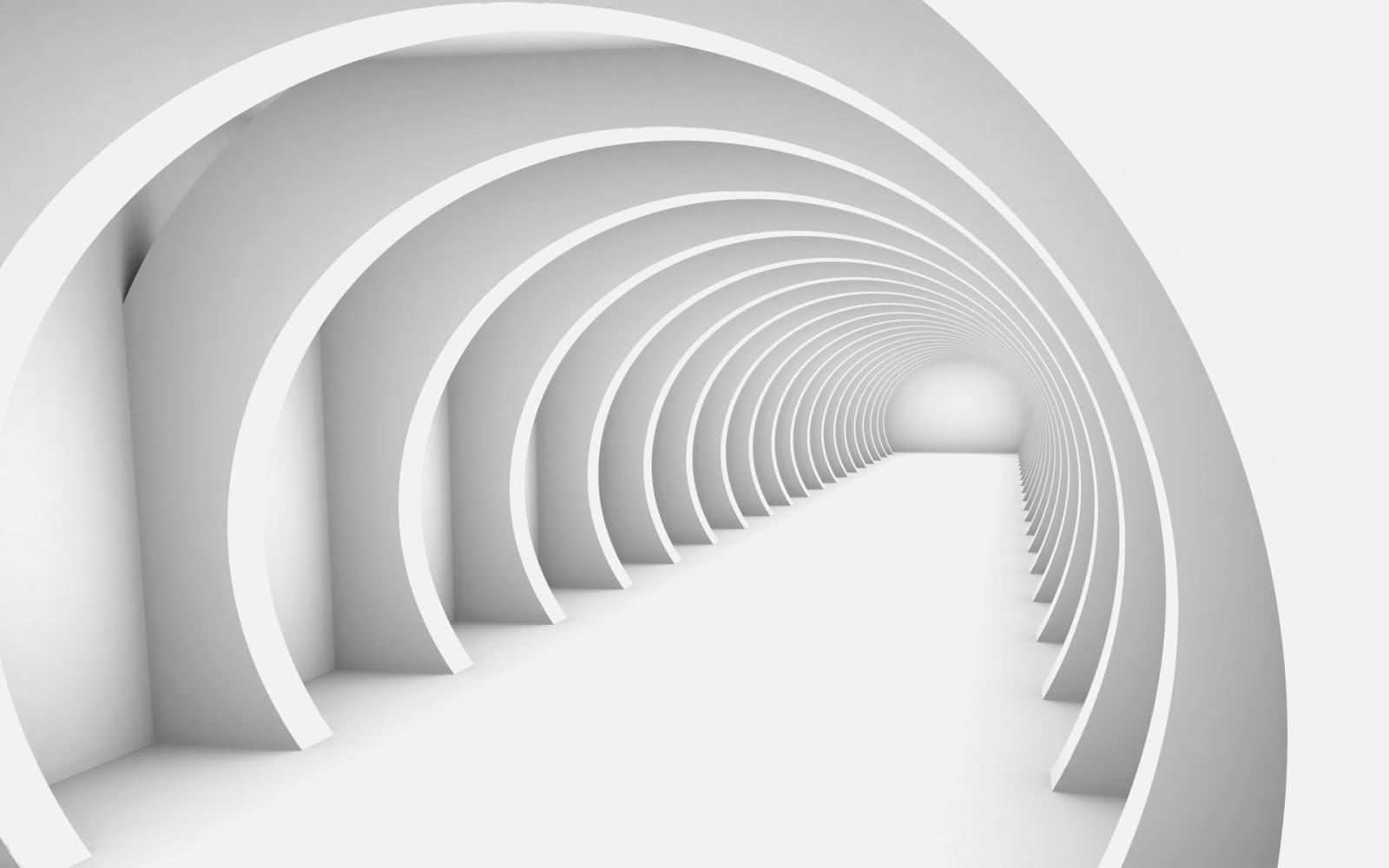 The tunnel of future hd wallpaper the wallpaper database for Wallpaper 3d white
