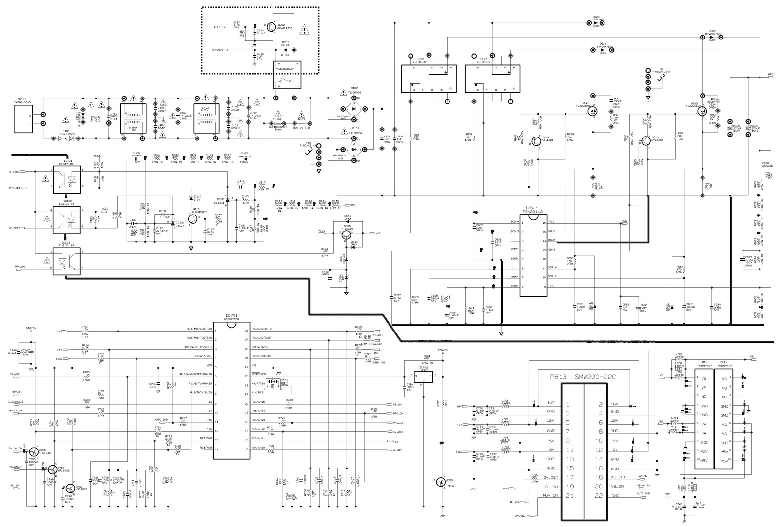 Smps Circuit Diagram With Explanation Pdf And Pwm Motor Speed Controller Using Ic556 Homemade Other Tv Circuits