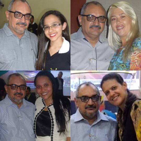 Abigail, Luana, Elizama e Vitoriane.