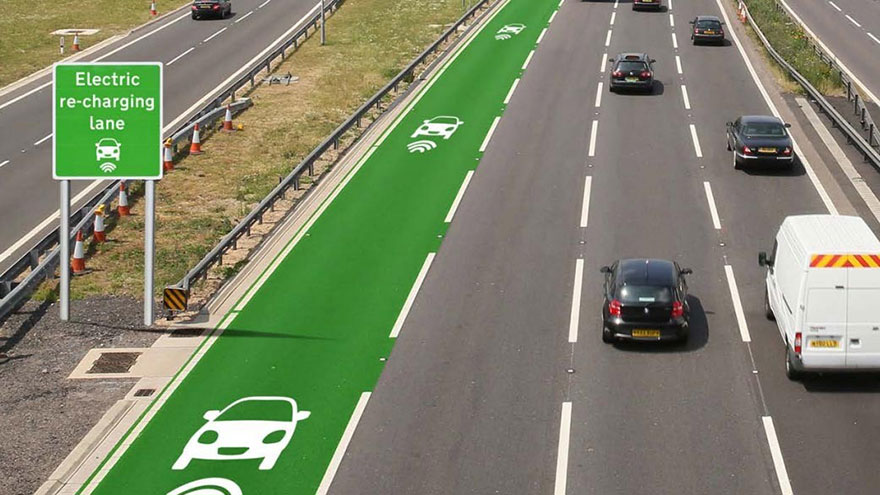 UK About To Test Roads That Charge Electric Cars As They Drive