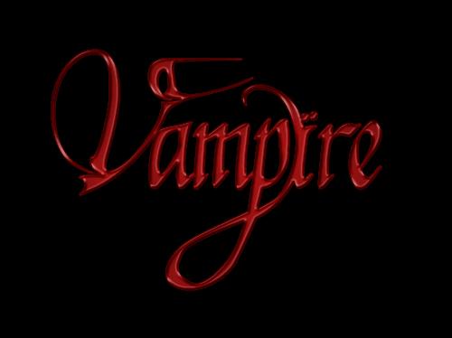 (vampire) فالرسائل تُخلق لتُحرق مدافئ