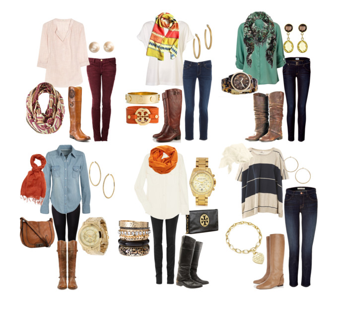 Amazing, Colorful, Various Winter Combinations with Accessories for Street Style, Love It