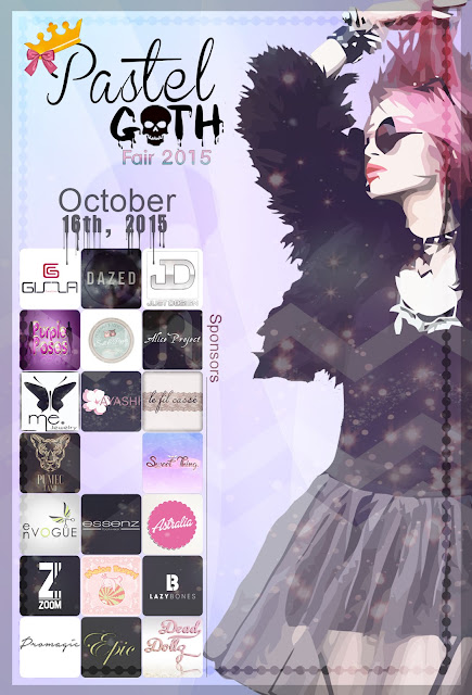 pastel goth poster