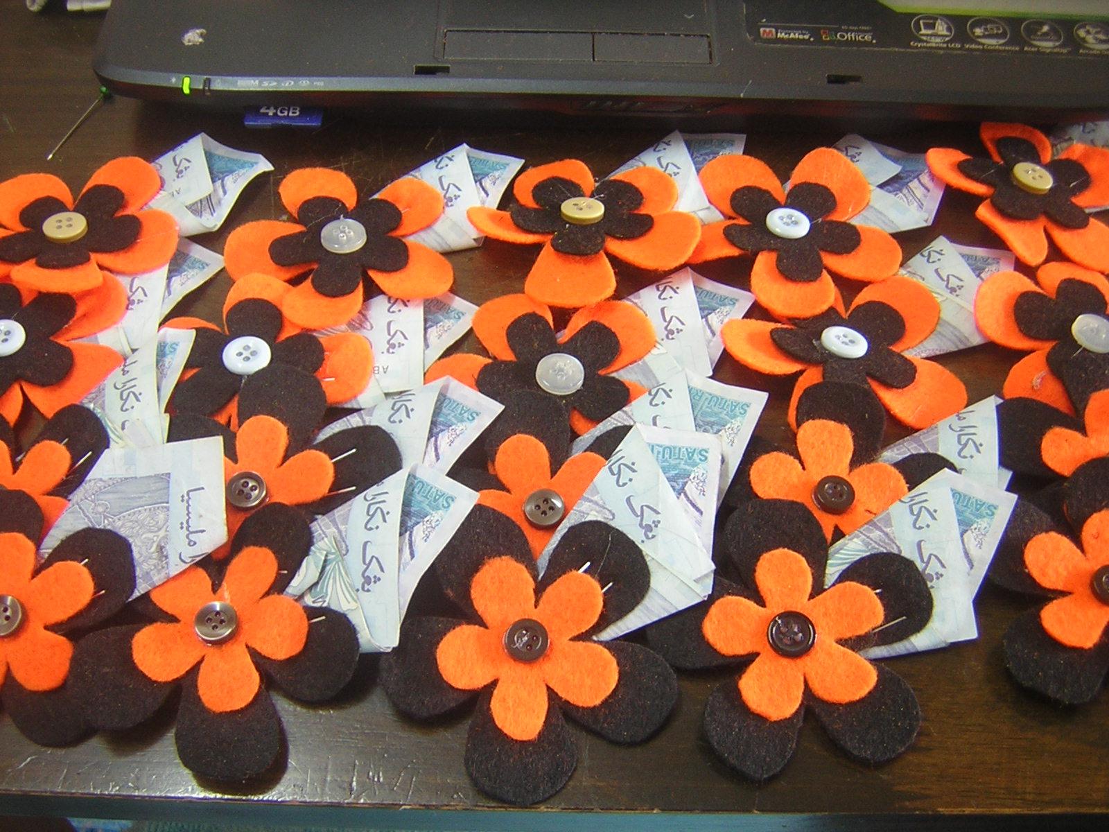 Noieizan Brooch Bunga Penanggah Untuk Wedding Daus