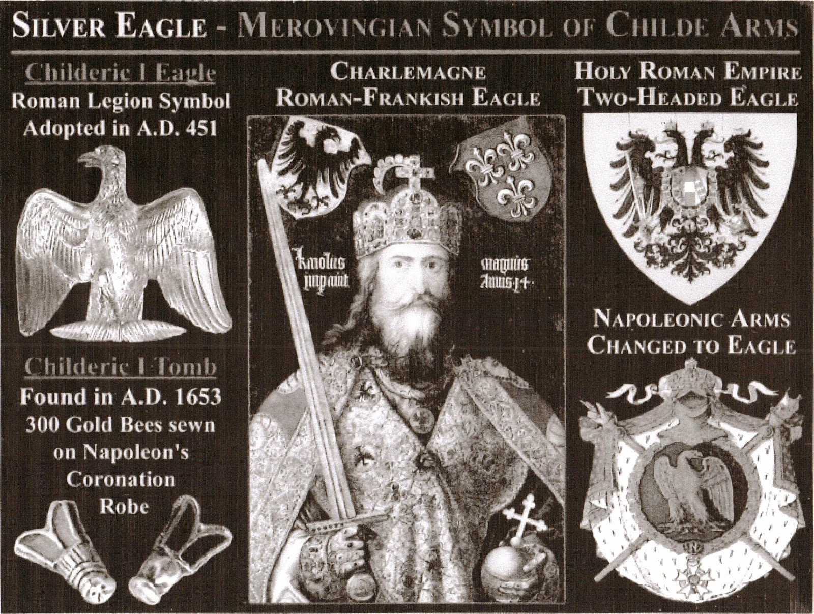 stagge parker histories childe of england  childe coat of arms merovingian link from the r legion eagle