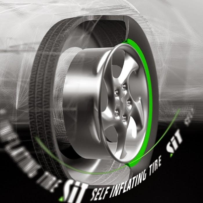 Automatické dohušťovaní tlaku v pneu