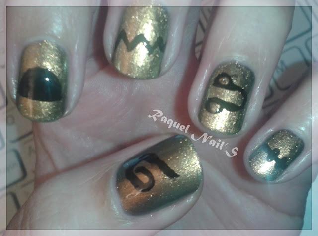 Egipto nail art