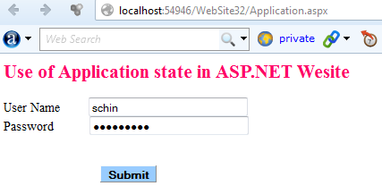 Application state and Global.asax file in ASP.NET