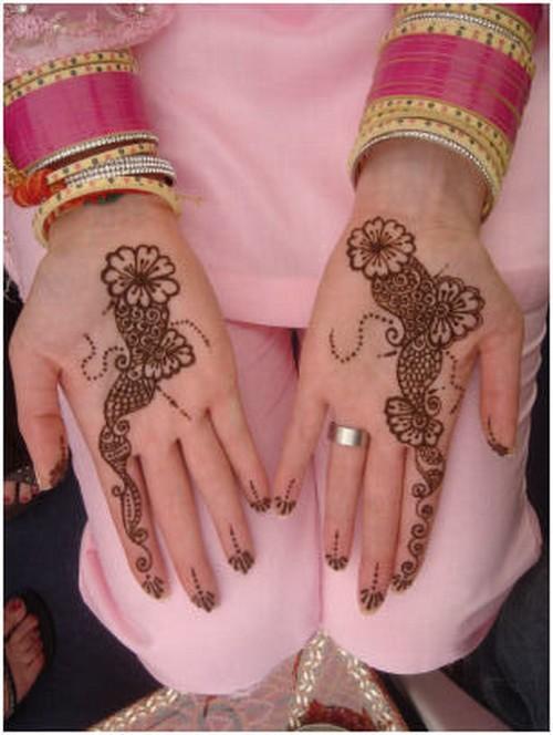 Mehndi Designs Modern : Latest mehndi design for hands modern