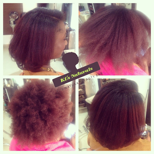 Before Meets After Silk Press On Natural Hair Kl S
