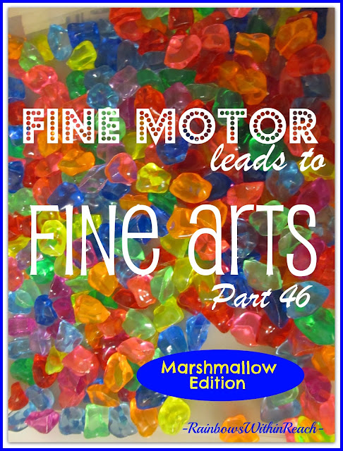 photo of: Fine Motor Leads to Fine Arts Part 46 via RainbowsWithinReach
