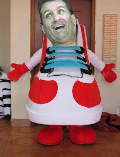 al bundy shoe costume
