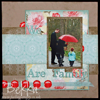 We are Family - featuring Attic Boutique from Stampin' Up!