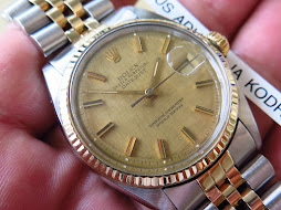 ROLEX OYSTER PERPETUAL DATEJUST CHAMPAGE TEXTURE DIAL - ROLEX 1601